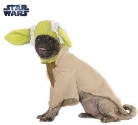 Disfraz Yoda de Star Wars para perro