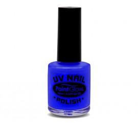 Esmalte de uñas azul fluorescente de 12 ml.