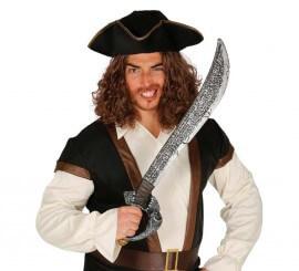 Espada de Pirata de los 7 mares de 72 cm