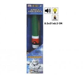 Espada láser con luz y sonido de 51 cm
