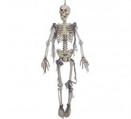 Esqueleto colgante con luz 91 cm