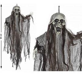Esqueleto colgante Negro 90 cm