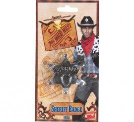 Estrella de Sheriff Metal 65mm