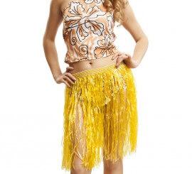 Falda Hawaiana en colores surtidos