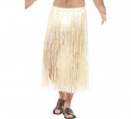 Falda Hawaiana Larga Beige