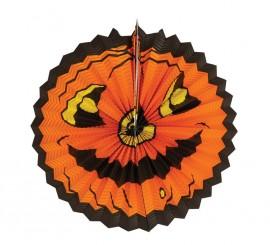 Farol Calabaza de papel para Halloween de 30 cm