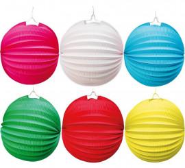 Lanterne Ronde de 26 cm en différentes couleurs