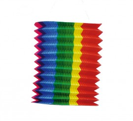 Farol tubular de colores 20 cm