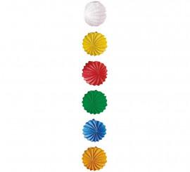 Farolillo Esférico liso en varios colores 20 cm