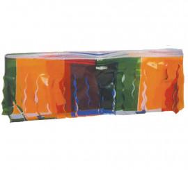 Flecos de Plástico multicolor 25 m