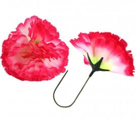 Flor Clavel Rojo para Flamencas y Chulapas