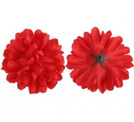 Flor Dalia Roja para Flamencas y Chulapas