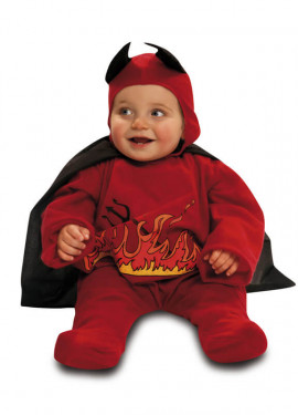 Disfraz de Diablillo Rojo para Bebés