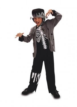 Disfraz Monstruo Franky de Niño para Halloween