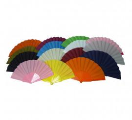 Abanicos de colores surtidos