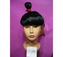 Perruque de Chinoise, Geisha ou Samouraï