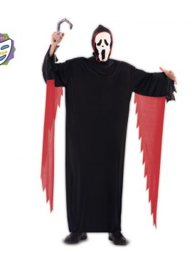Disfraz de Scream para Hombre talla M-L para Halloween
