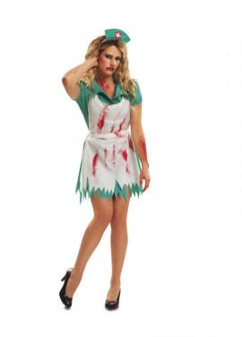 Disfraz Enfermera Sangrienta Mujer en varias tallas