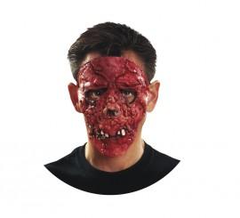 Máscara de Zombie Sangriento para Halloween