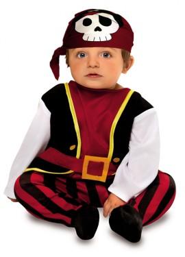 Disfraz de Pirata Calavera para Bebé de 7 a 12 meses