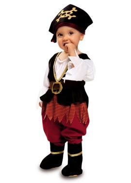 Disfraz de Pirata Richard para Bebé Niña de 7 a 12 meses