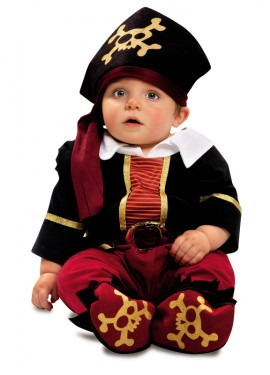 Déguisement Pirate Richard pour bébés de 7 à 12 mois