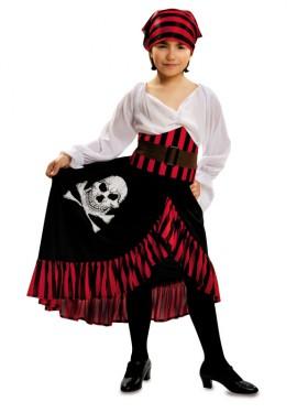 Disfraz de Pirata Jolly para Niña
