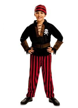 Déguisement de Garçon Pirate Jolly pour enfants plusieurs tailles