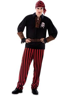 Déguisement de Pirate Jolly pour homme taille M-L