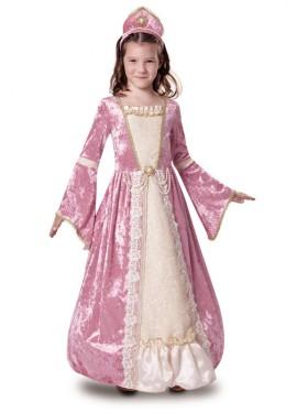 Déguisement Princesse Romantique Rose enfants plusieurs tailles