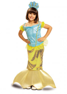 Déguisement Petite Sirène pour enfants de 5 à 6 ans