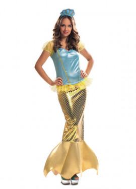Disfraz de Sirenita para Mujer talla M-L