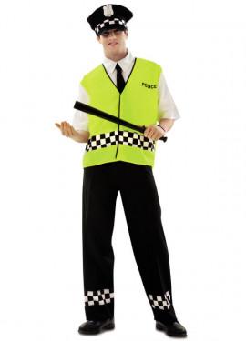 Disfraz de Policía Urbano para Hombre talla M-L