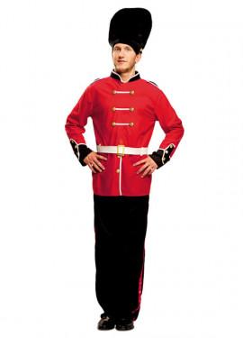 Disfraz de Guardia Real Inglesa para Hombre talla M-L