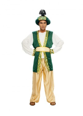 Disfraz de Sultán Árabe para Hombre en varias tallas