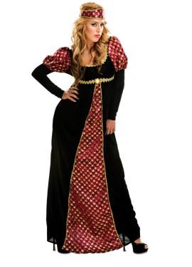 Déguisement de Princesse Médiéval pour femme taille M-L