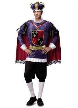 Déguisement de Roi Médiéval de Luxe pour homme taille M-L
