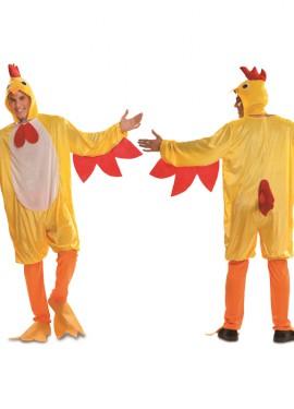 Disfraz de Gallo Amarillo para Hombre talla M-L
