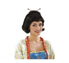 Perruque Courte Japonaise ou Geisha