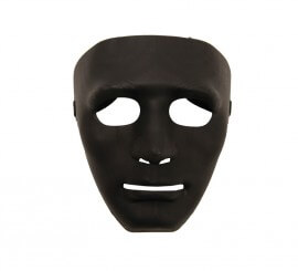 Máscara de Teatro Negra