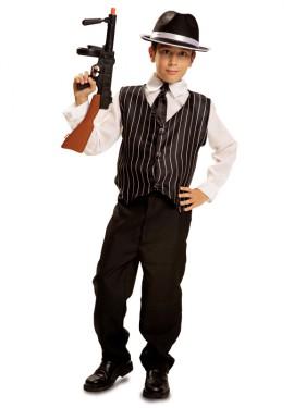 Disfraz de Mafioso para Niño