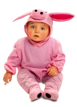 Disfraz de Cerdito para Bebés de 7 a 12 meses