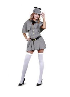 Disfraz de Sherlock Holmes para mujer