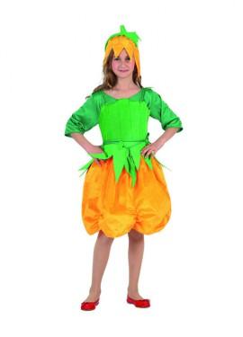 Disfraz de Calabaza para niñas