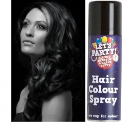 Spray de Pintura para Cabello color Negro 125 ml