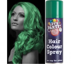 Spray de Pintura para Cabello color Verde 125 ml