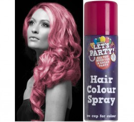 Spray de Pintura para Cabello color Rosa 125 ml