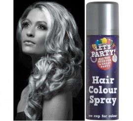 Spray de Pintura para Cabello color Plata 125 ml