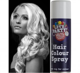 Spray de Pintura para Cabello color Blanco 125 ml