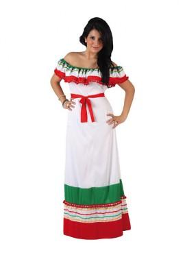 Disfraz de Mejicana para mujer